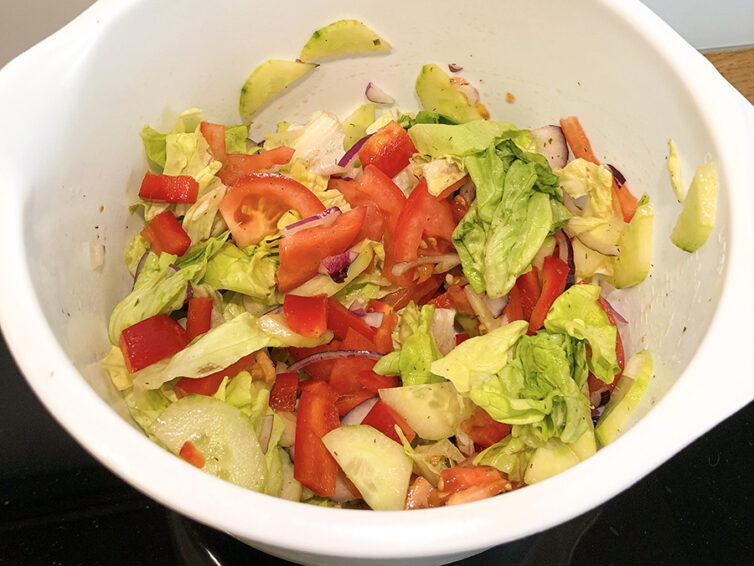 Surówka obiadowa w 5 minut