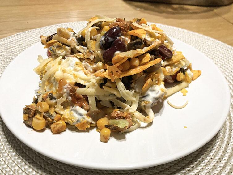 Sałatka z nachosami