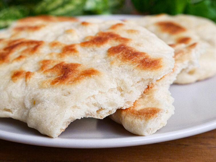Chlebki z patelni
